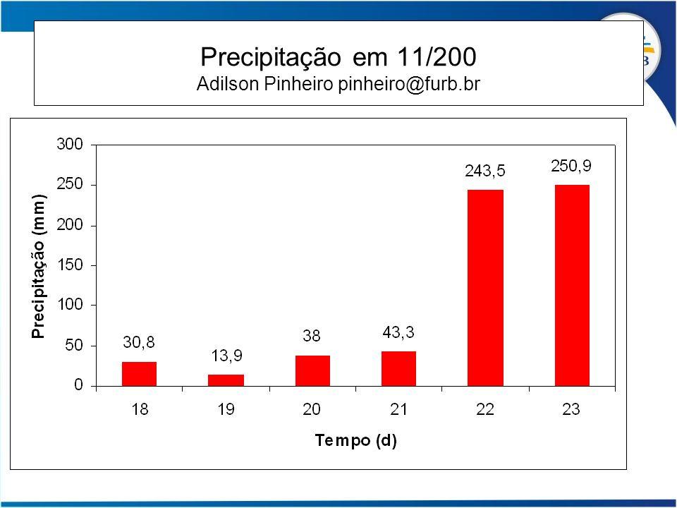 Slide 26 Precipitação em 11/200 Adilson Pinheiro pinheiro@furb.br