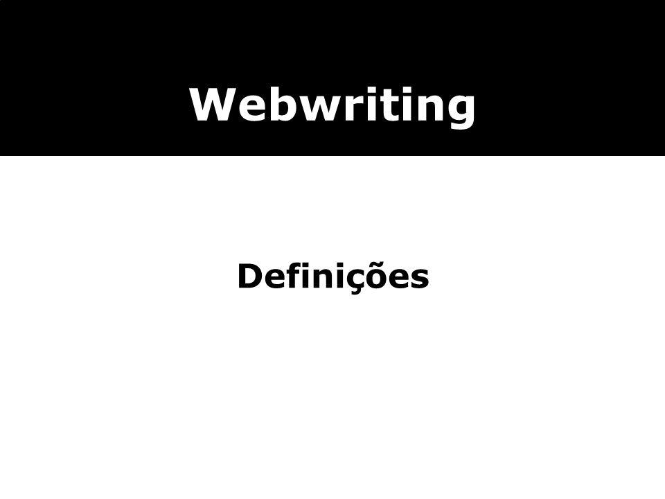 Definições Webwriting