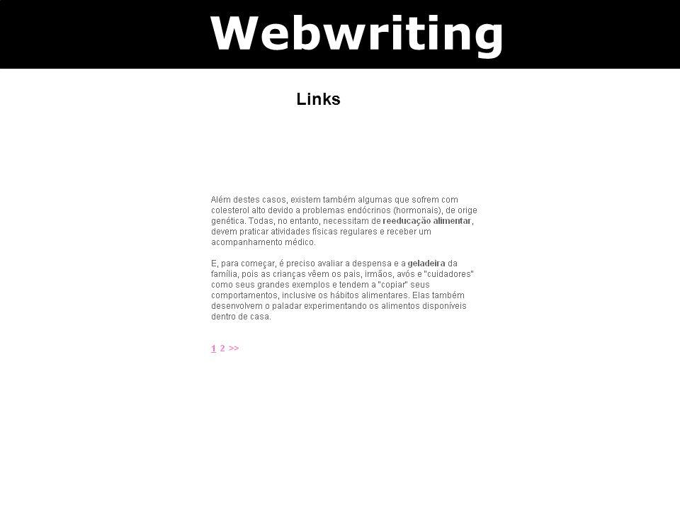 Links Webwriting