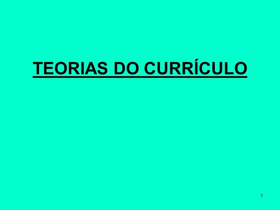 2 O currículo é lugar, espaço, território.O currículo é relação de poder.