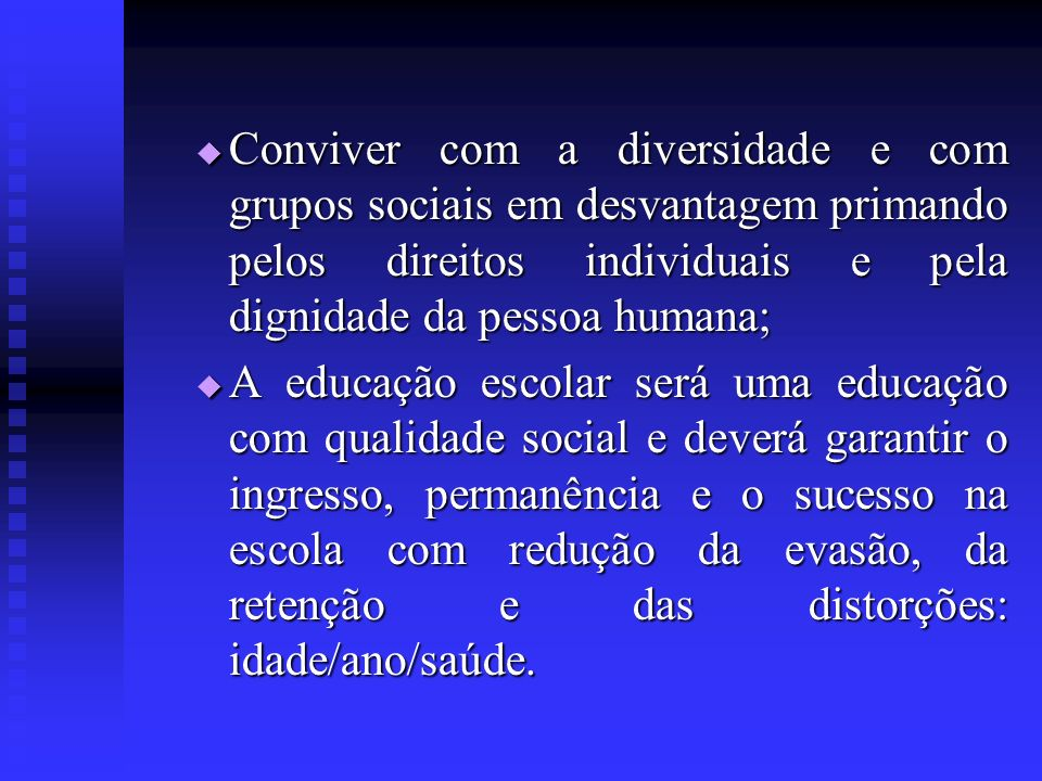 EDUCAÇÃO DE JOVENS E ADULTOS Deve ser previsto no P.P.P.
