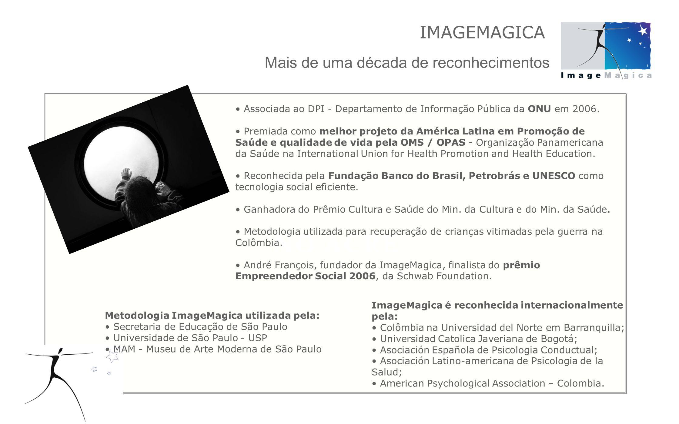 Todos os projetos da ImageMagica partem da certeza de que a fotografia tem o poder de transformação.