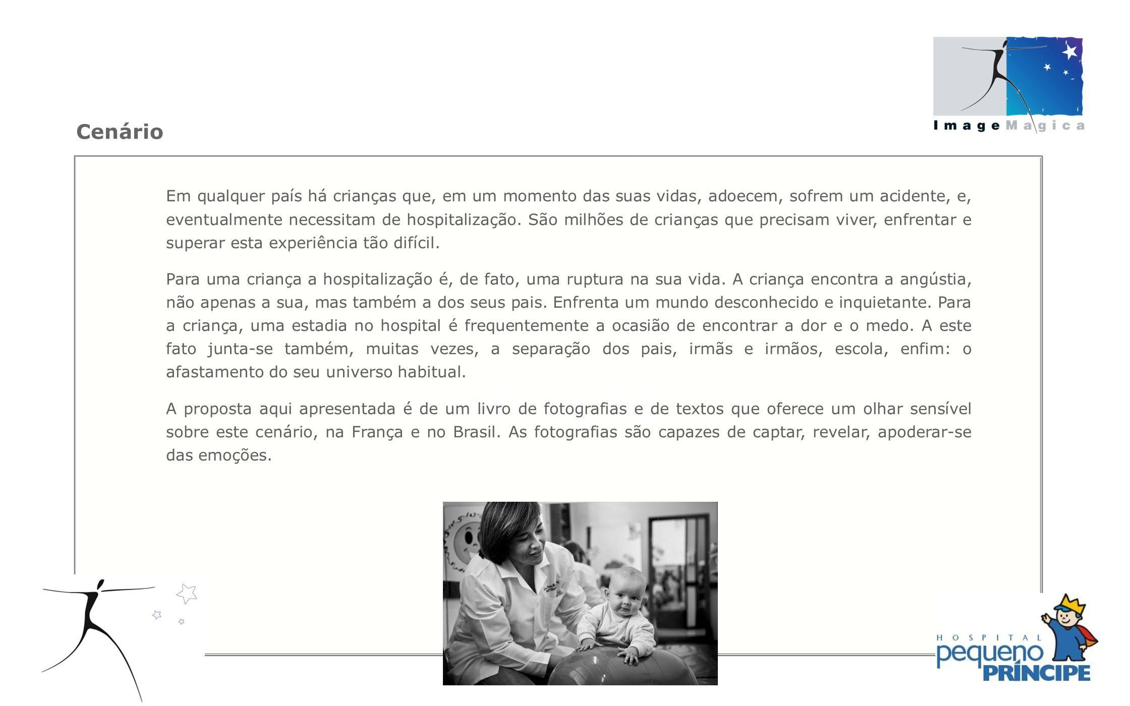 Desenvolver oficinas de fotografia dentro do Hospital Pequeno Príncipe para provocar transformações em pacientes, familiares e equipes de saúde.