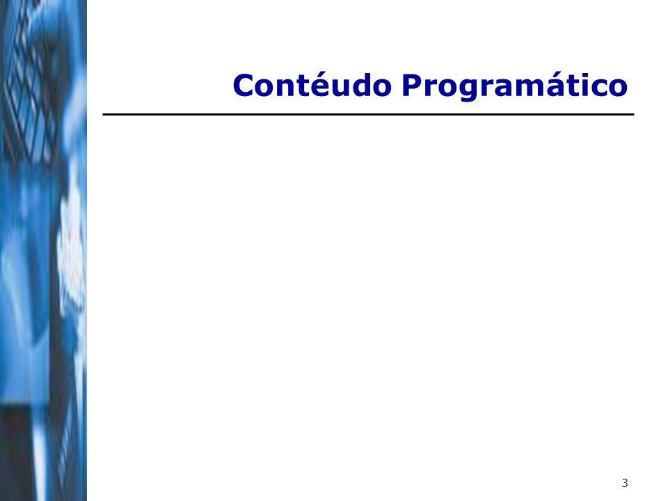 3 Contéudo Programático