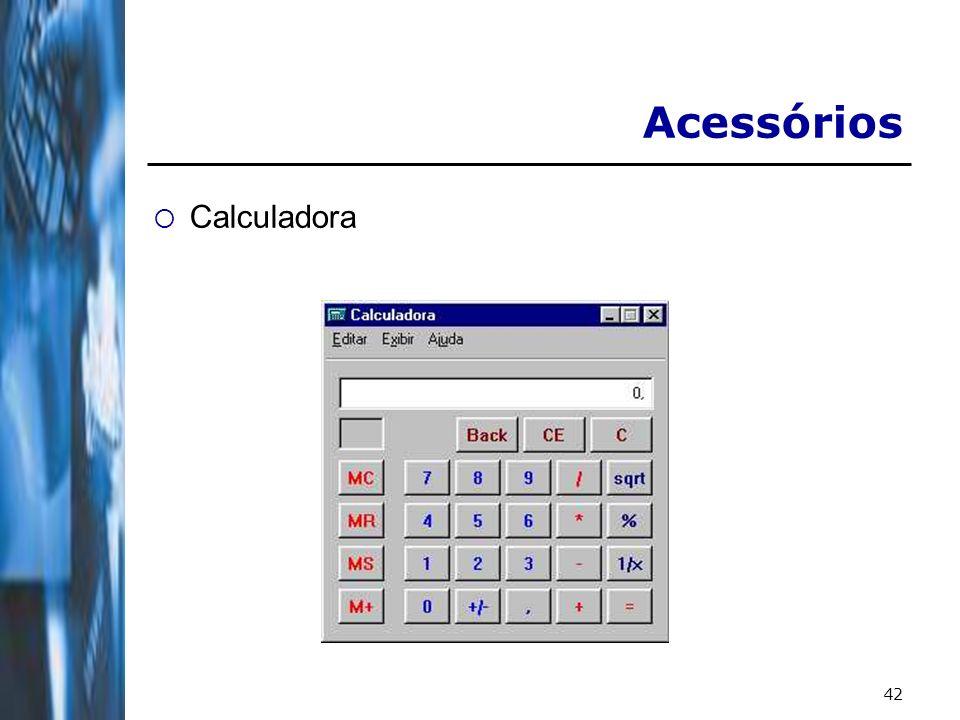 42 Acessórios Calculadora