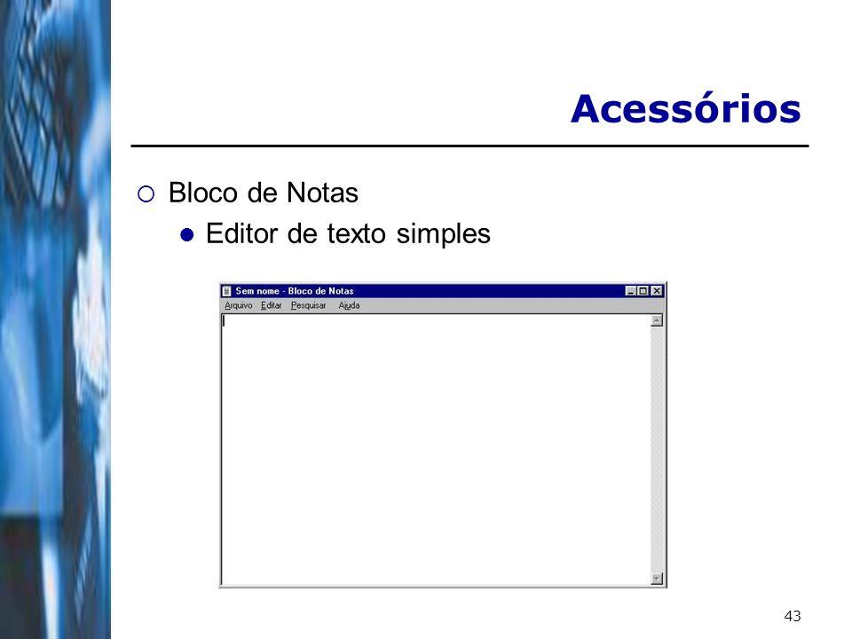 43 Acessórios Bloco de Notas Editor de texto simples