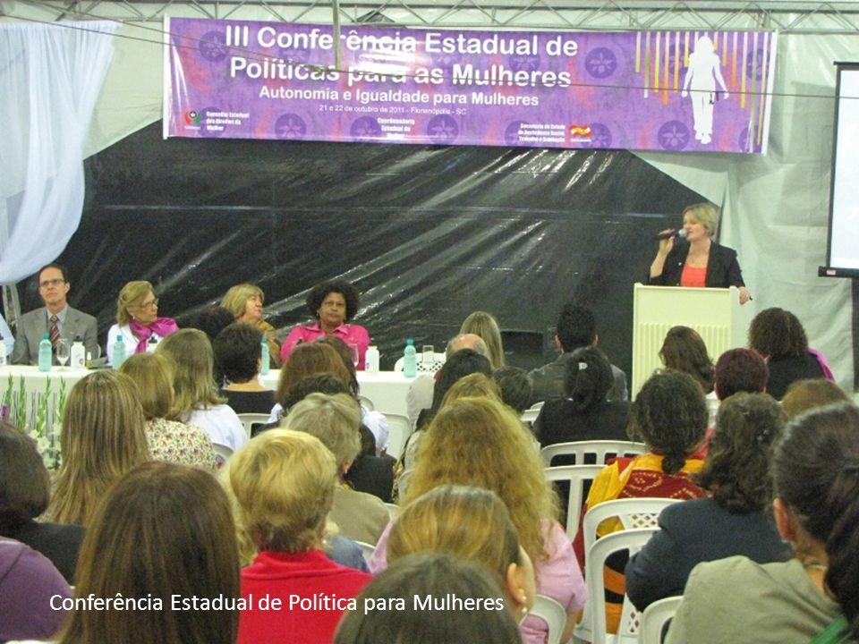 Conferência Estadual de Política para Mulheres
