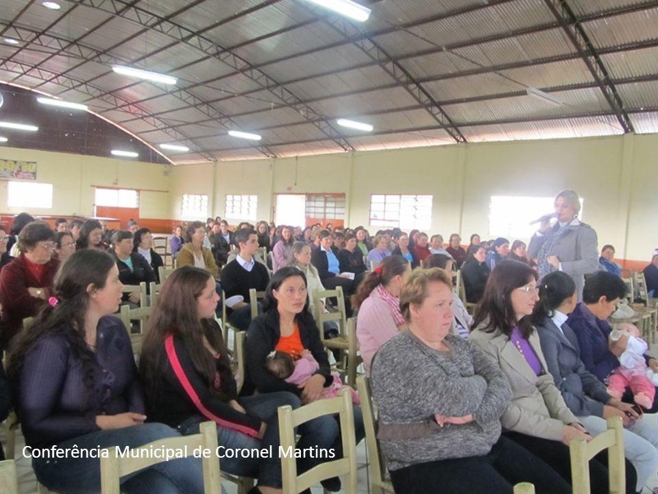 Conferência Municipal de Coronel Martins