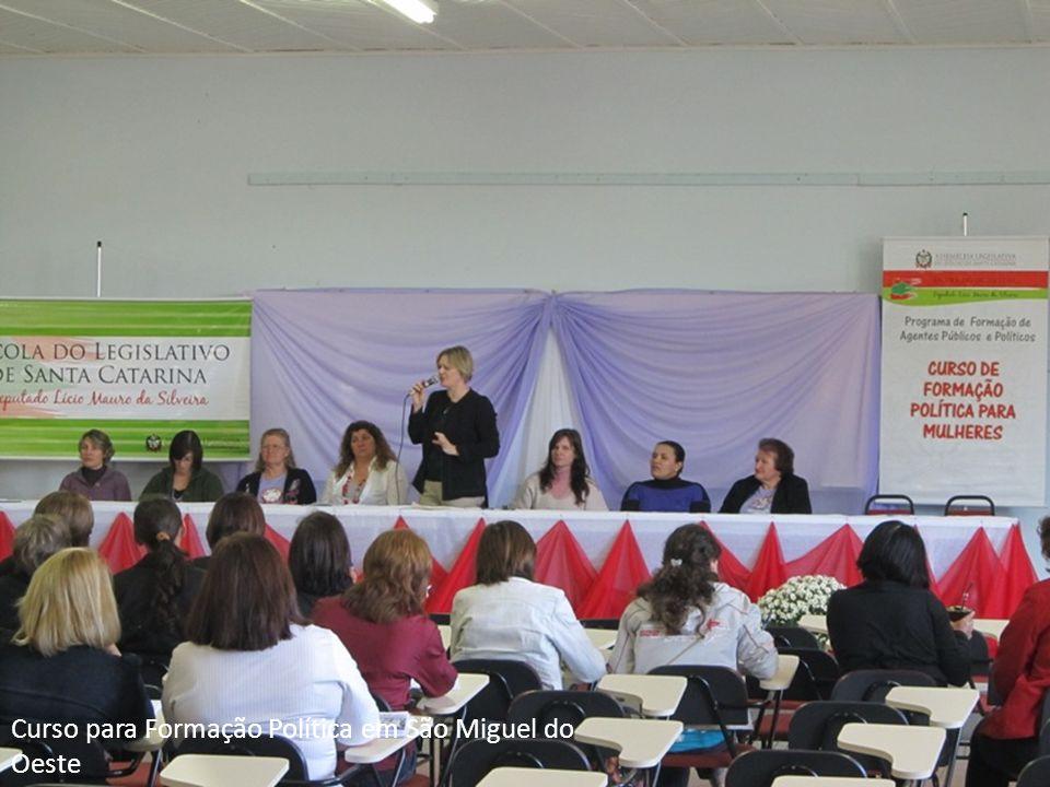 Curso para Formação Política em São Miguel do Oeste