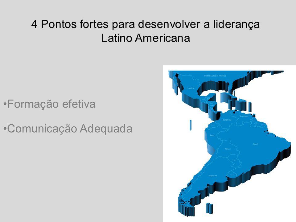 Comunicação Adequada 4 Pontos fortes para desenvolver a liderança Latino Americana