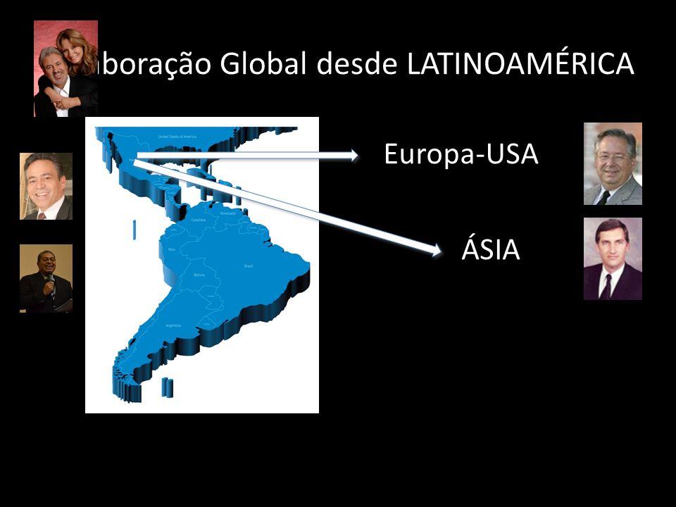 Colaboração Global desde LATINOAMÉRICA Europa-USA ÁSIA