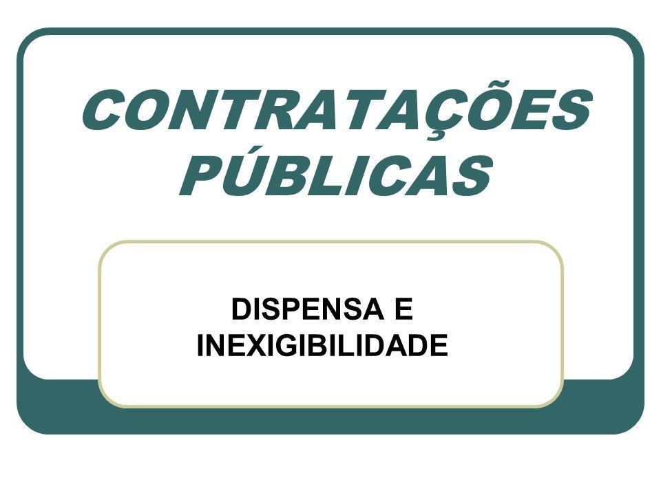 LEGISLAÇÃO Constitucional: art.37, XXI / art. 22, XXVII / art.