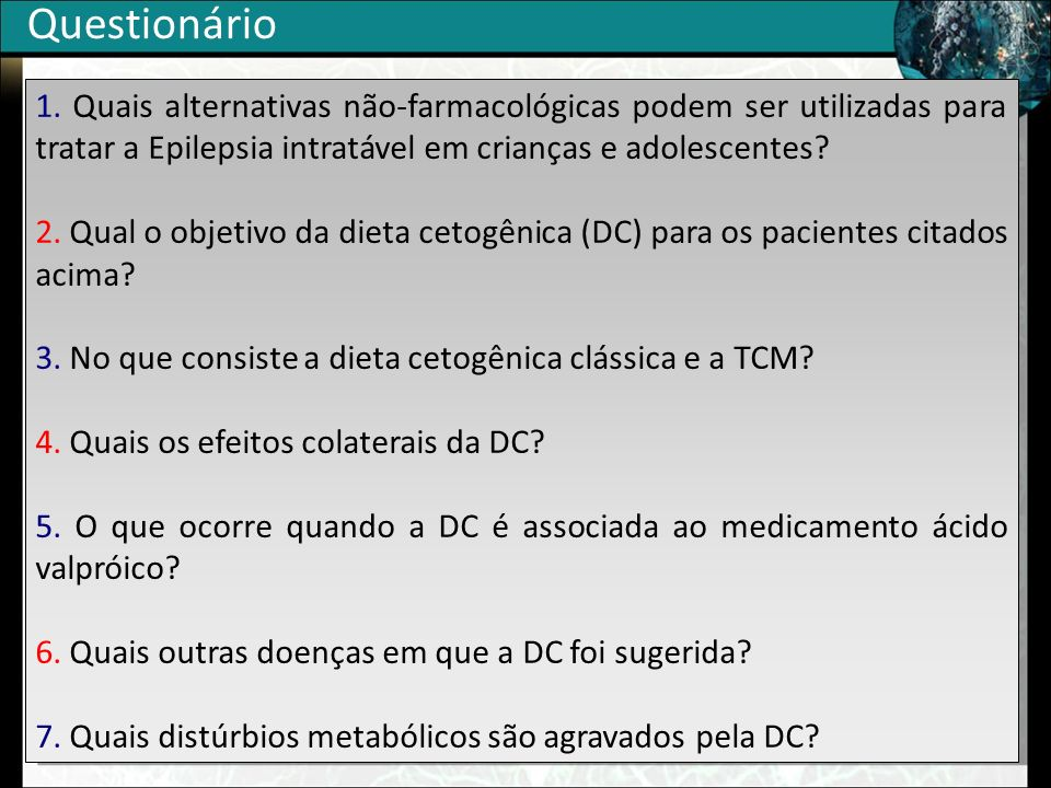 Questionário 1.