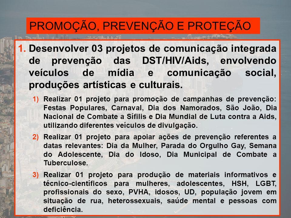 PROMOÇÃO, PREVENÇÃO E PROTEÇÃO 2.