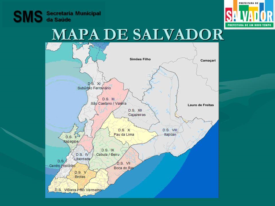MAPA DE SALVADOR
