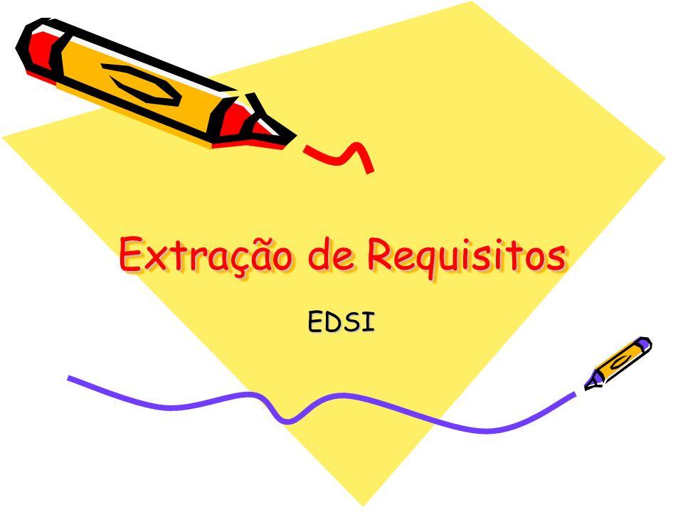 Extração de Requisitos EDSI