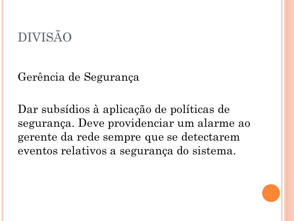 DIVISÃO Gerência de Contabilização.