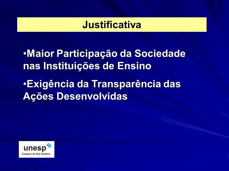Maior Participação da Sociedade nas Instituições de EnsinoMaior Participação da Sociedade nas Instituições de Ensino Exigência da Transparência das Aç