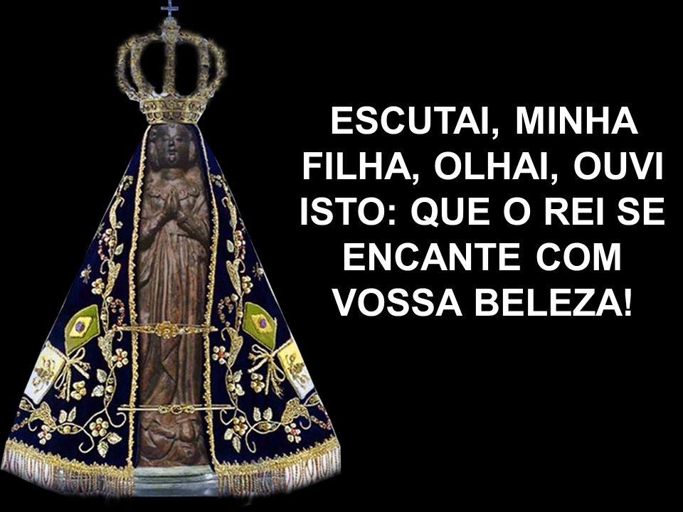 Viva a Mãe de Deus e nossa, sem pecado concebida! Viva a Virgem Imaculada, a Senhora Aparecida.