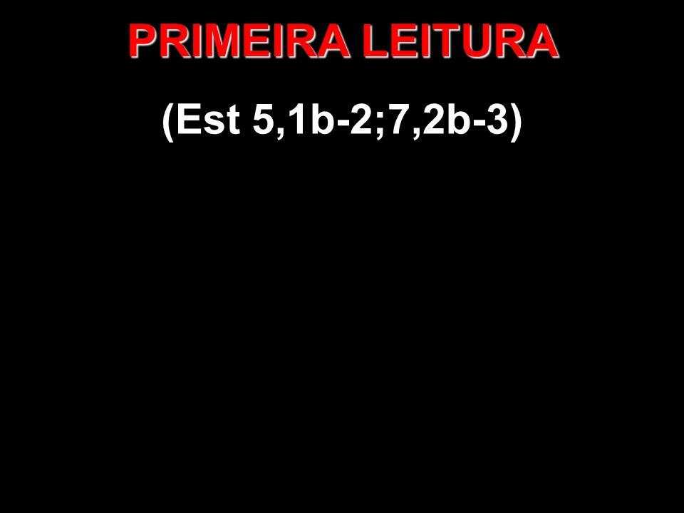 PRIMEIRA LEITURA (Est 5,1b-2;7,2b-3)