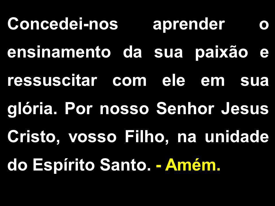 1/2 ORAÇÃO DA COMUNIDADE 1.