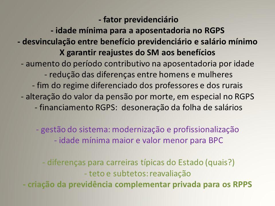 PREVIDÊNCIA COMPLEMENTAR PARA SERVIDORES DE CARGO EFETIVO (art.
