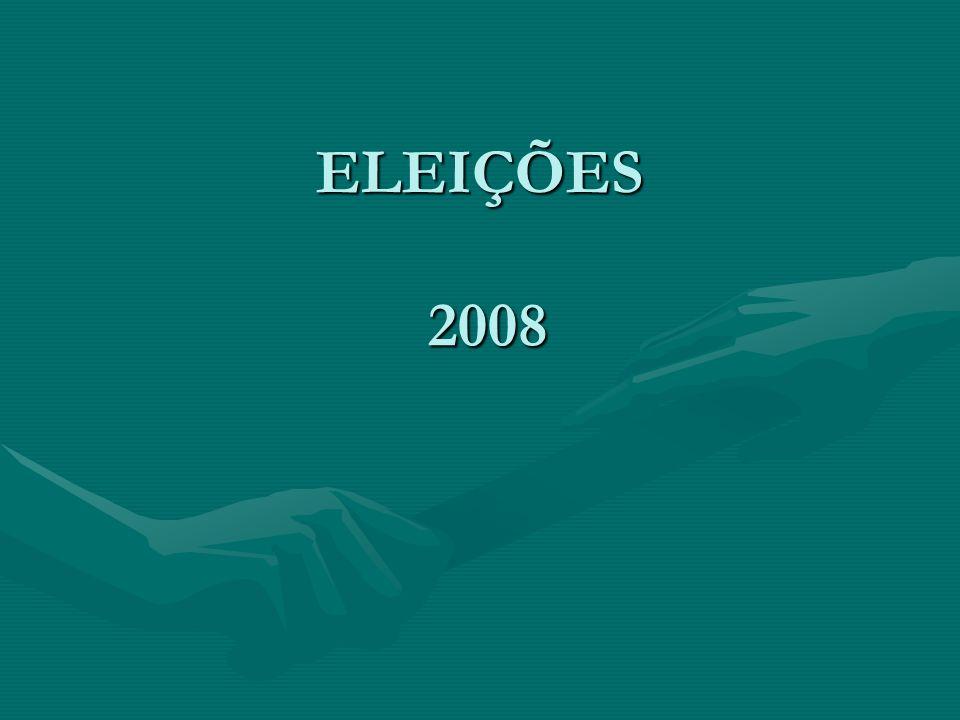 ELEIÇÕES 2008