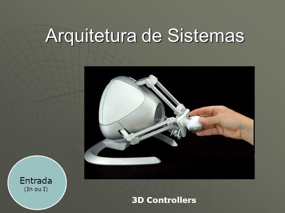 Arquitetura de Sistemas 3D Controllers Entrada (In ou I)