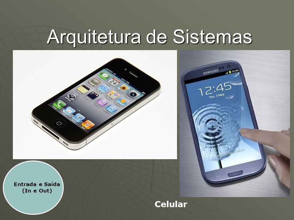 Arquitetura de Sistemas Entrada e Saída (In e Out) Celular