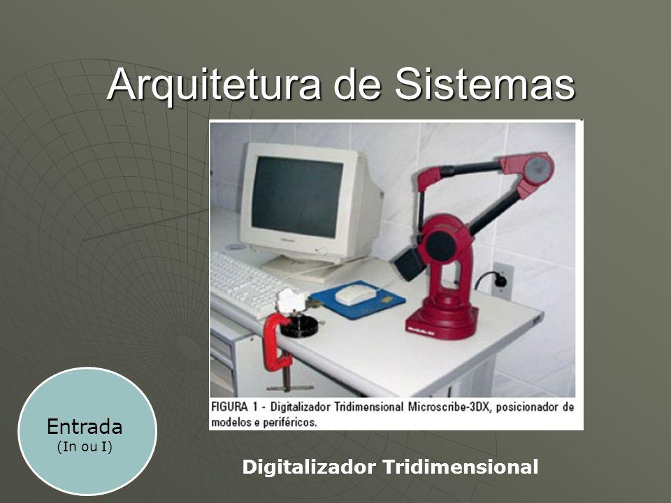 Arquitetura de Sistemas Digitalizador Tridimensional Entrada (In ou I)