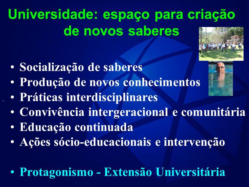 Realidade e Desafios Reconhecer as necessidades e expectativas dos idosos Identificar os serviços disponíveis e avaliar a qualidade dos resultados obt