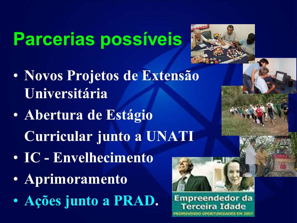 Organização de ações junto aos funcionários docente e técnico- administrativo em fase de Aposentadoria... MAIOR DESAFIO