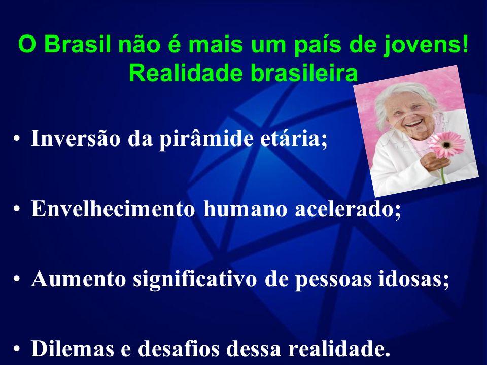 O Brasil não é mais um país de jovens.