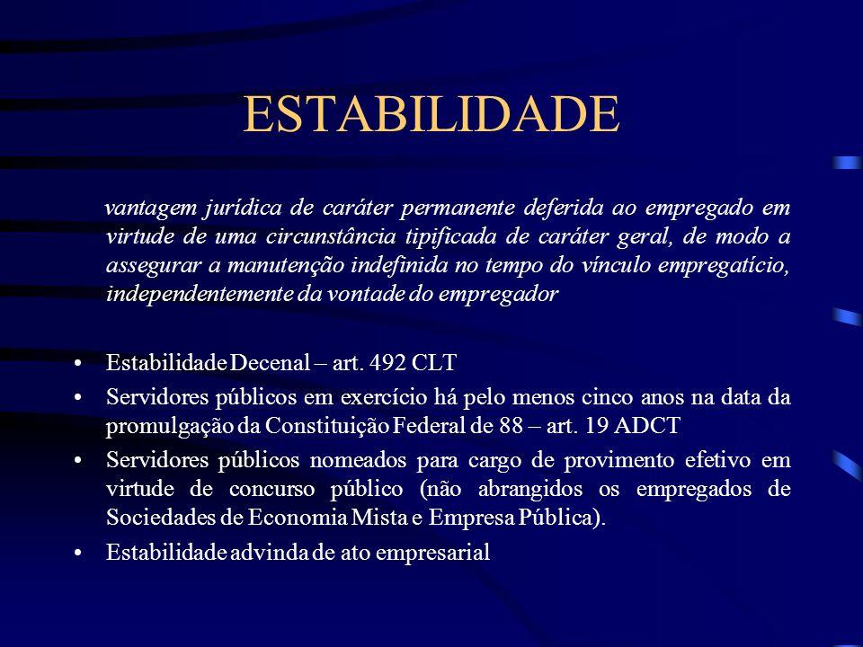 Requisitos para configuração da JUSTA CAUSA a)que os fatos alegados para a despedida sejam incluídos nos capitulados em lei; b) que a reação do empreg