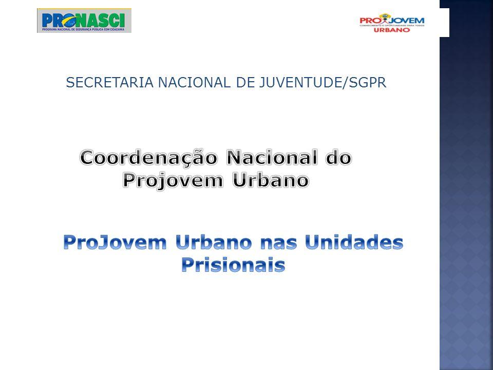 DURAÇÃO E ORGANIZAÇÃO DO CURSO será igual ao do ProJovem Urbano.