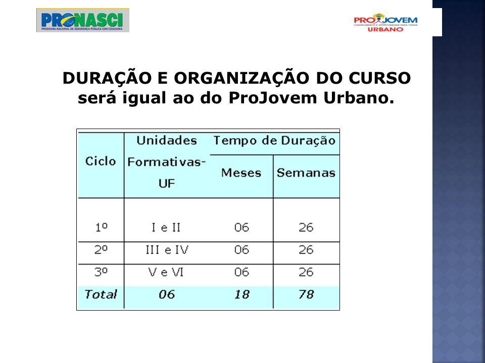 5 (cinco) turmas, em casos especiais, o núcleo poderá ser formado por, no mínimo, 3 turmas.