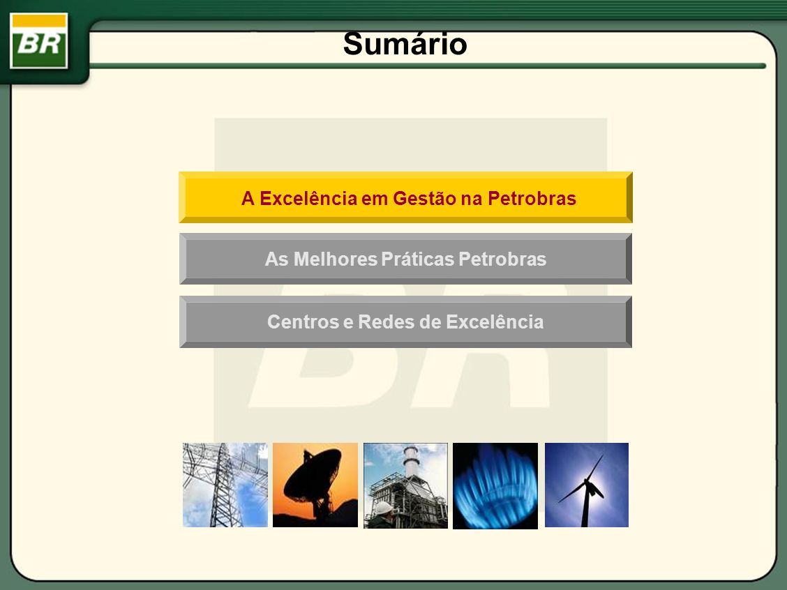 CRITÉRIOS Liderança Estratégias e Planos Clientes Sociedade Pessoas Processos Informações e Conhecimento Resultados Modelo de Gestão da Fundação Nacional da Qualidade - FNQ AQG na Petrobras