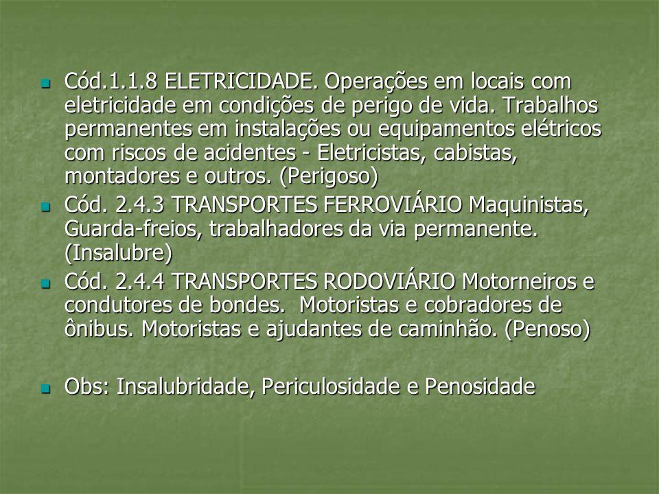 Decreto 83080/79 Cód.1.2.4 CHUMBO. Extração de chumbo.