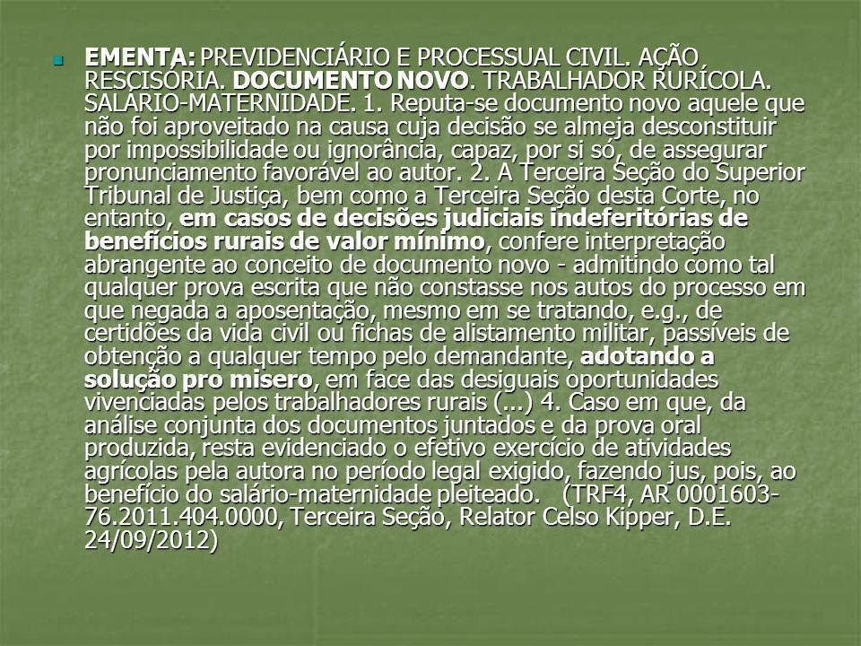 EMENTA: PREVIDENCIÁRIO E PROCESSUAL CIVIL.AGRAVO DE INSTRUMENTO.