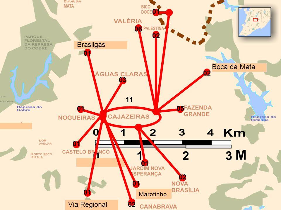 Brasilgás Boca da Mata 01 06 11 01 03 02 05 02 01 02 01 Via Regional 01 Marotinho 01