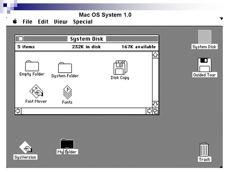 Mac OS System 1.0