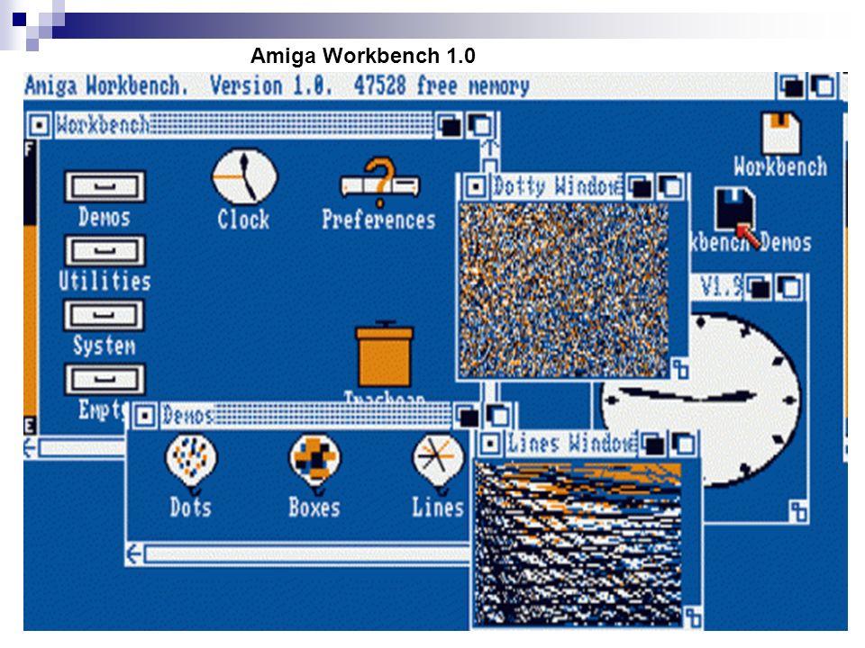 Amiga Workbench 1.0