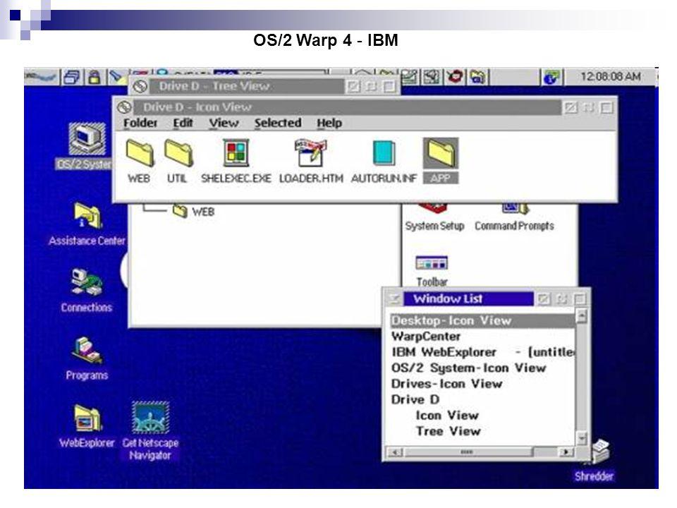 OS/2 Warp 4 - IBM