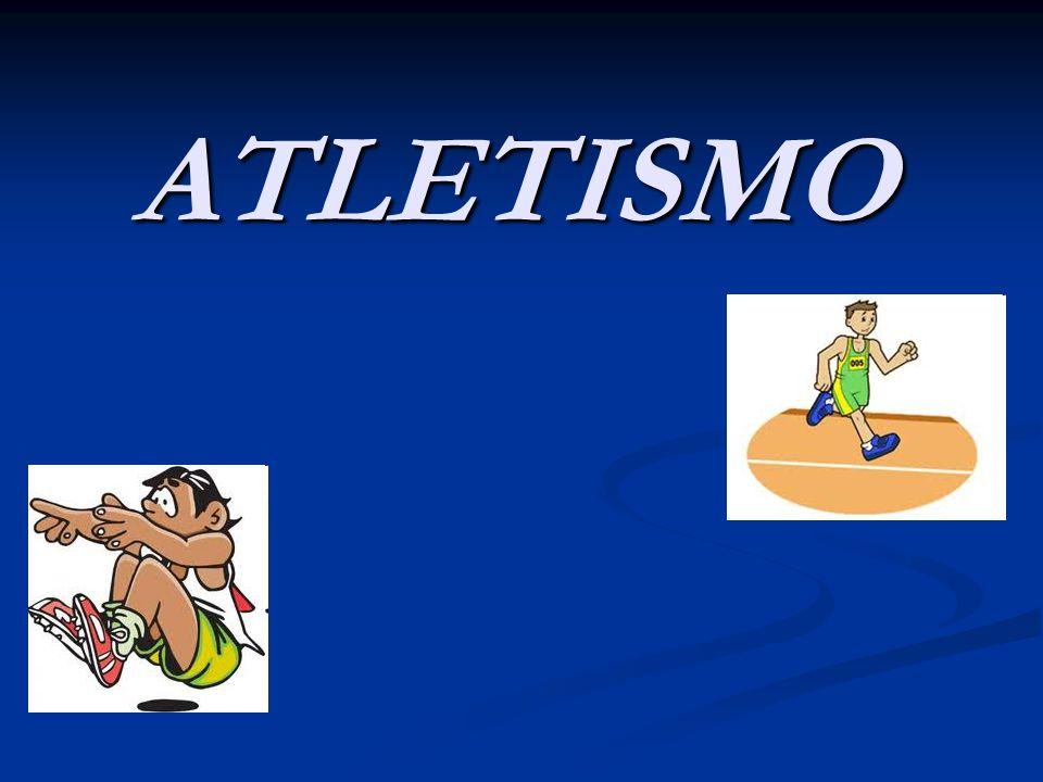 HISTÓRICO O atletismo é um conjunto de atividades esportivas (corrida, saltos e arremessos), que tem a origem nas primeiras Olimpíadas realizadas na Grécia Antiga.