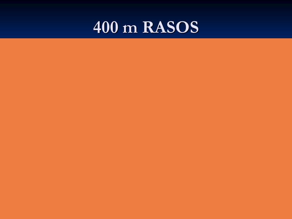 400 m RASOS