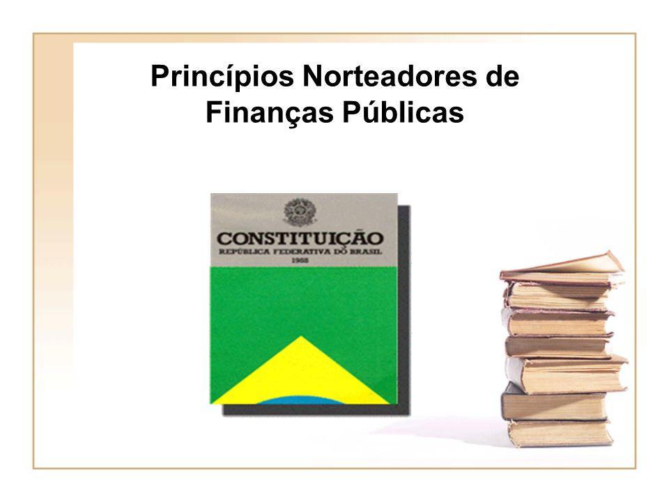 Princípios Norteadores de Finanças Públicas