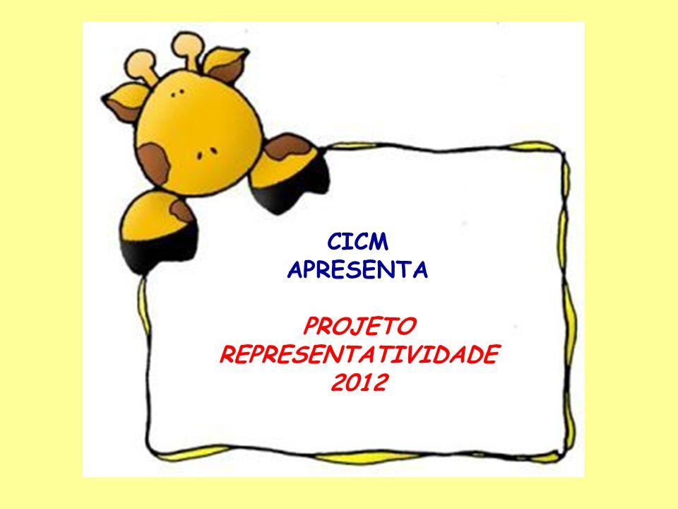 CICM APRESENTA PROJETO REPRESENTATIVIDADE 2012