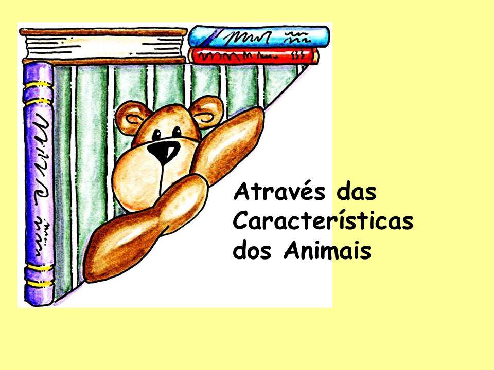 Através das Características dos Animais