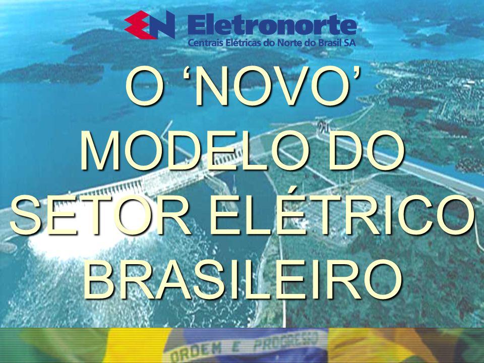 O NOVO MODELO DO SETOR ELÉTRICO BRASILEIRO