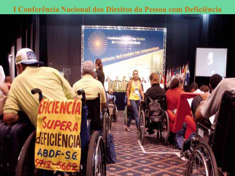 I Conferência Nacional dos Direitos da Pessoa com Deficiência